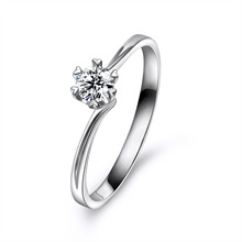 Pt950钻石戒指
