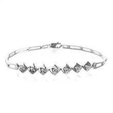 18K金钻石手链