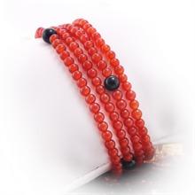 红玛瑙手串(玉髓)