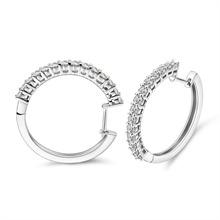 18K金钻石耳环