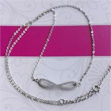 银925锆石项链