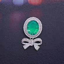 银925绿刚玉挂坠